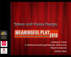 Taboo Game Design Presentation by Lindsay Grace